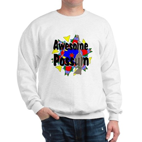 Awesome Possum Kaleidoscope Sweatshirt