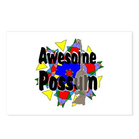 Awesome Possum Kaleidoscope Postcards (Package of