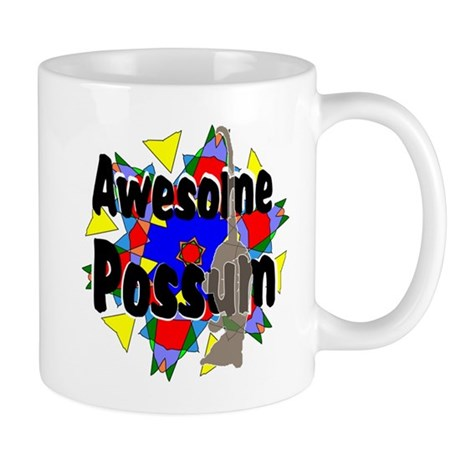Awesome Possum Kaleidoscope Mug