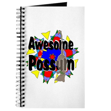 Awesome Possum Kaleidoscope Journal