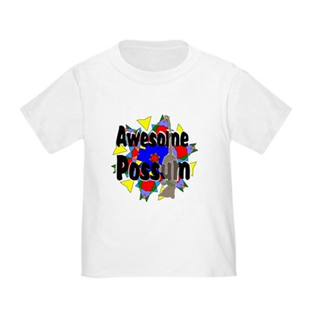 Awesome Possum Kaleidoscope Toddler T-Shirt