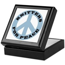 Knitters For Peace Keepsake Box