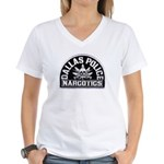 Dallas Dopers Women's V-Neck T-Shirt