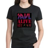 Brand New Saul Alive 08' Women's black T-Shirt