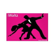 iWaltz Ballroom Dance Rectangle Magnet