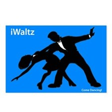iWaltz Ballroom Dance Postcards (Package of 8)