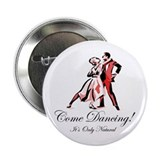 "It's Only Natural Dance 2.25"" Button (10 pack)"