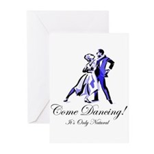 It's Only Natural Dance Greeting Cards (Pk of 10)