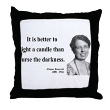 Eleanor Roosevelt 6 Throw Pillow