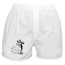Old-time Ballroom Dancers Boxer Shorts