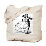 Old-time Ballroom Dancers Tote Bag