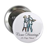"Casual Ballroom Dancers 2.25"" Button (10 pack)"