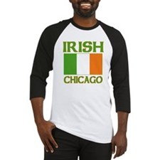 Chicago Irish Flag Baseball Jersey