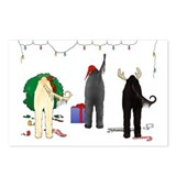 Nothin Butt Afghan Xmas Postcards (Package of 8)