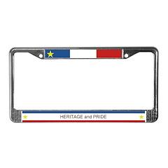 HERITAGE & PRIDE Acadian-Cajun License Plate F
