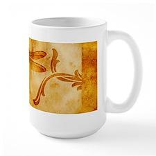 Artistic Vintage Dragonfly Mug