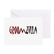 Groomzilla Greeting Card