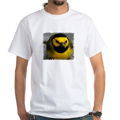 Yellow Bird White T-Shirt