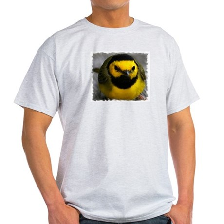 Yellow Bird Ash Grey T-Shirt