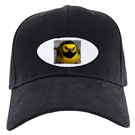 Yellow Bird Black Cap