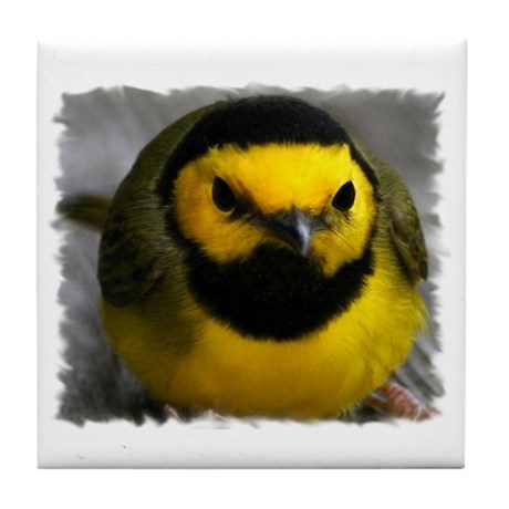 Yellow Bird Tile Coaster