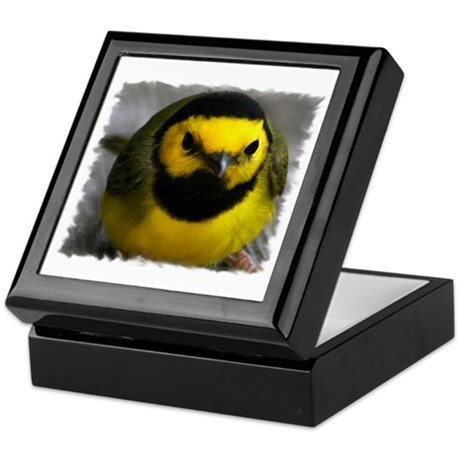 Yellow Bird Keepsake Box