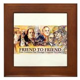 Friend to Friend Framed Tile