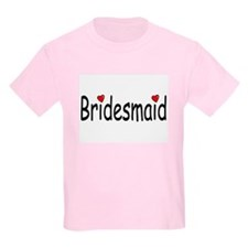 Bridesmaid (RD HRT) T-Shirt