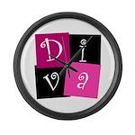 DIVA Design! Large Wall Clock