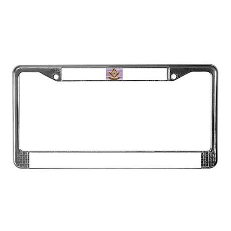 Past Master License Plate Frame