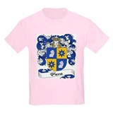 Pierre Family Crest Kids T-Shirt