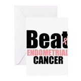 Beat Endometrial Cancer Greeting Cards (Pk of 10)
