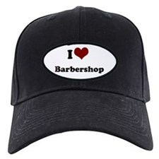 i heart barbershop Black Cap