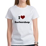 i heart barbershop Women's T-Shirt