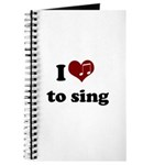 i heart to sing Journal