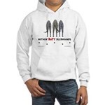 Nothin' Butt Deerhounds Hooded Sweatshirt