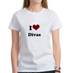 i heart divas Women's T-Shirt