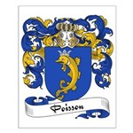 Poisson Family Crest Small Poster