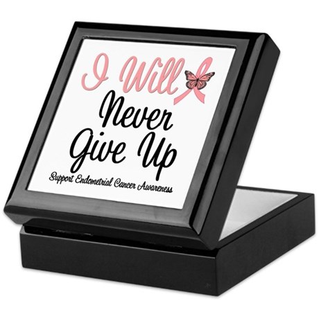 Endometrial Cancer Keepsake Box
