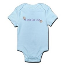Worth the wait Infant Bodysuit