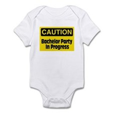 Bachelor Party In Progress Infant Bodysuit