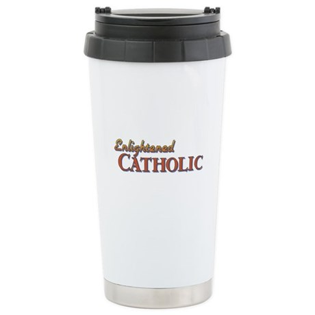 Enlightened Catholic Ceramic Travel Mug
