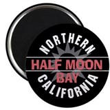 Half Moon Bay California Magnet