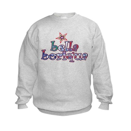 Bella Boriqua Kids Sweatshirt