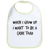 Grow up - Cane Toad Bib