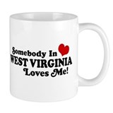 Somebody in West Virginia Loves me  Tasse