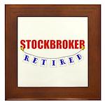Retired Stockbroker Framed Tile