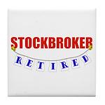 Retired Stockbroker Tile Coaster