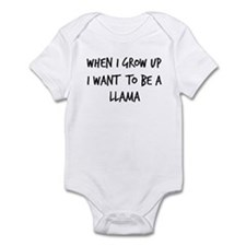 Grow up - Llama Infant Bodysuit