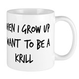 Grow up - Krill Small Mug